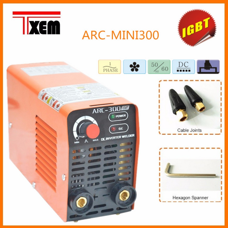 ARC 300 220v Weld Electric Welder Portable Small Mini Electric Welder Full Copper Core Mini Household 160A With Hex Wrench