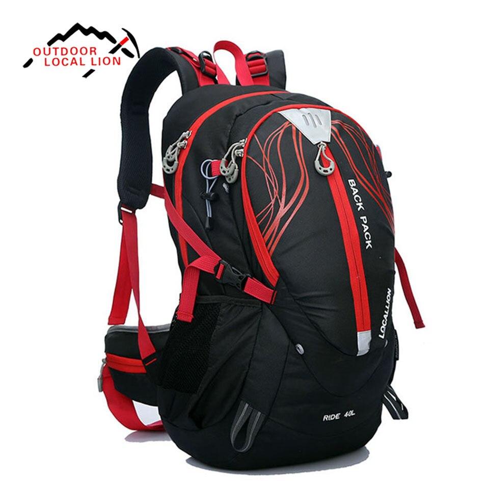 LION LOCAL 40L femmes et hommes voyage sac à dos randonnée Camp escalade sac à dos ordinateur portable sac à dos paquet de cyclisme