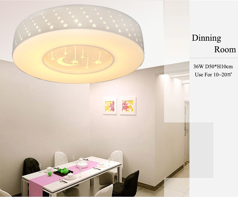 New Dimmable W W W LED Ceiling Lights Remote Control Home - Dimmable led kitchen ceiling lights