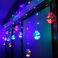 Jiaderui 1x 3m 120LEDs Copper Wire Micro String Light Garlands Christmas Holiday String Lights Outdoor Decorative
