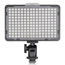 Neewer photo studio 176 led ultra brilhante pode ser escurecido na luz de vídeo da câmera com montagem da linha de 1/4 polegadas para canon/nikon/pentax/etc