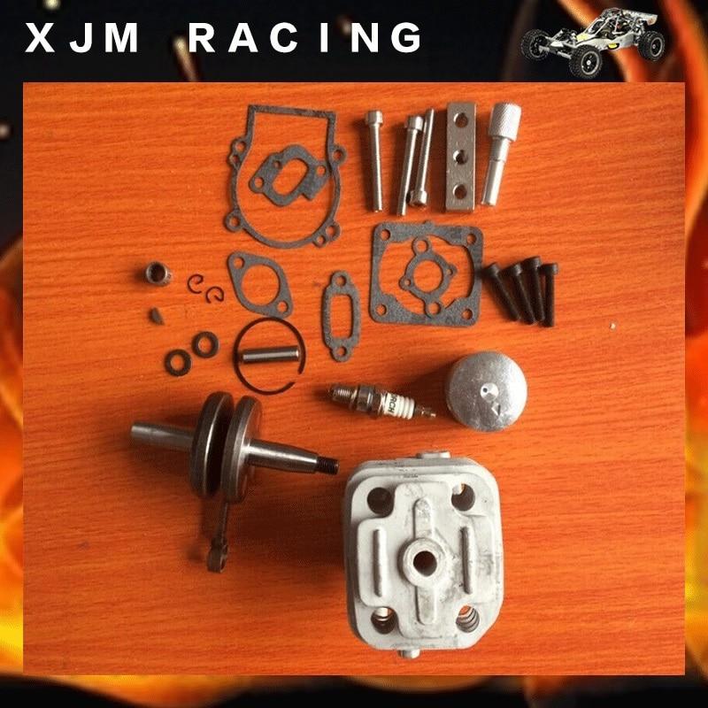 4 boulon 30.5cc kit moteur pour zenoah cy rovan moteurs pour 1/5 hpi rovan km baja losi pièces