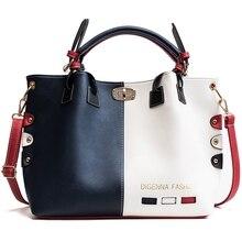 цены на European american style Leather Handbags Women Bag 2019 High Quality Casual Female Bags Tote Designer Brand Shoulder Bag  в интернет-магазинах