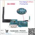 Para samsung galaxy note 3 n900 n900p n900v flex parte substituição carregador usb conector dock de carregamento usb cabo flex, original novo