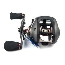 2Spools Bait Casting Reels Haibo Smart Left/Right Hand 6.5:1 12+1BB All Metal High Strength Baitcasting Fishing Reel For Fishing