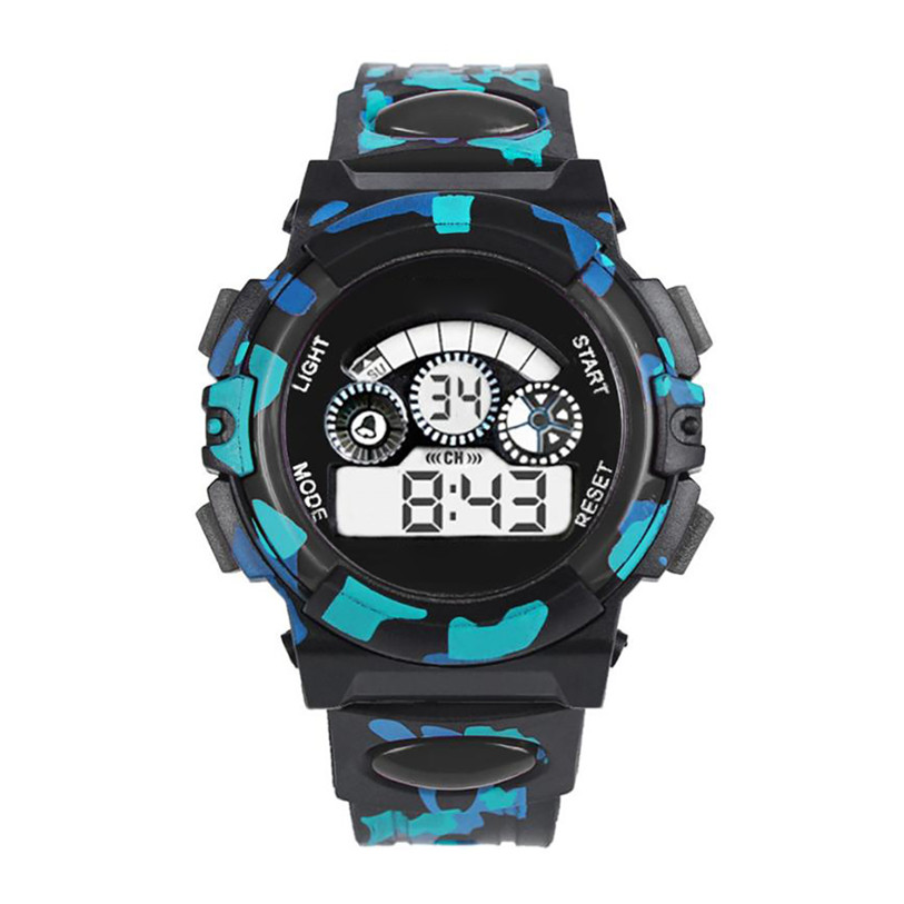 Superior Hot Outdoor Multifunction Waterproof Kid Child Boy's Sports Electronic Watches Watch Gift Oct 25*