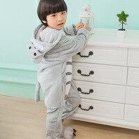 Children Totoro Kigurumi Pajamas Cartoon Onesies Kids For Girls Boys One Piece Suit Bodysuit Halloween Cosplay Costume Party Hot