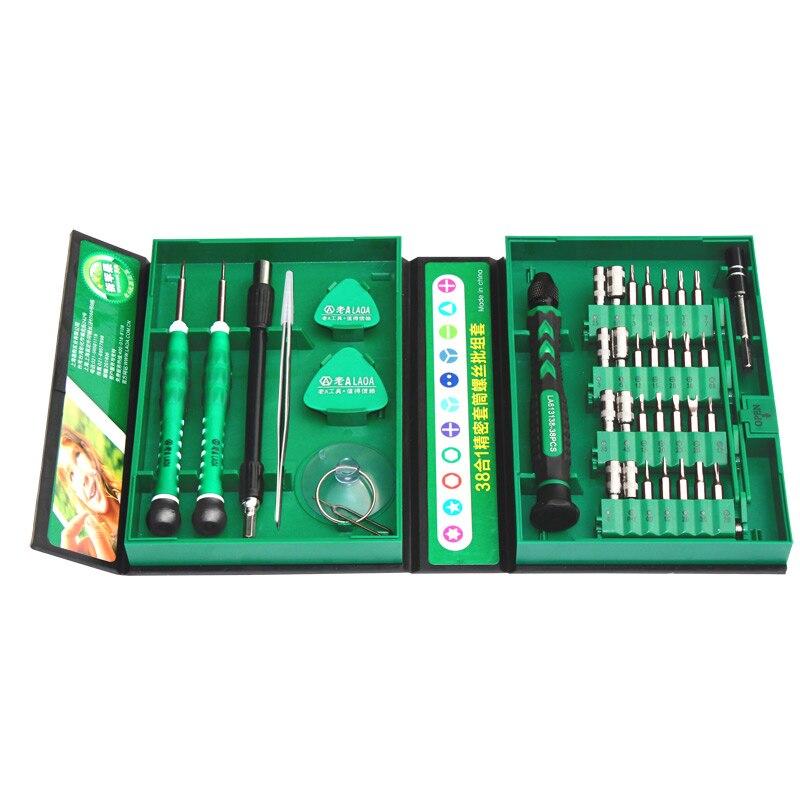 LAOA Set di cacciaviti di precisione 38 in 1 hot-sell con punte a - Utensili manuali - Fotografia 3