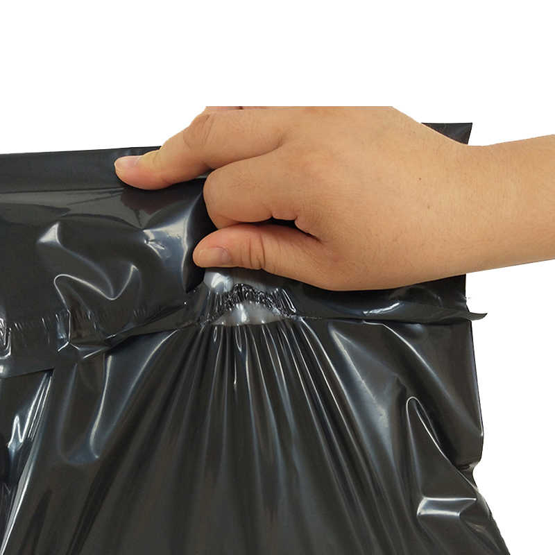 HARDIRON Black Poly Mailer Bag Plastic Envelope Self-seal Adhesive Courier Storage Post Shipping Mailing Bags New Material