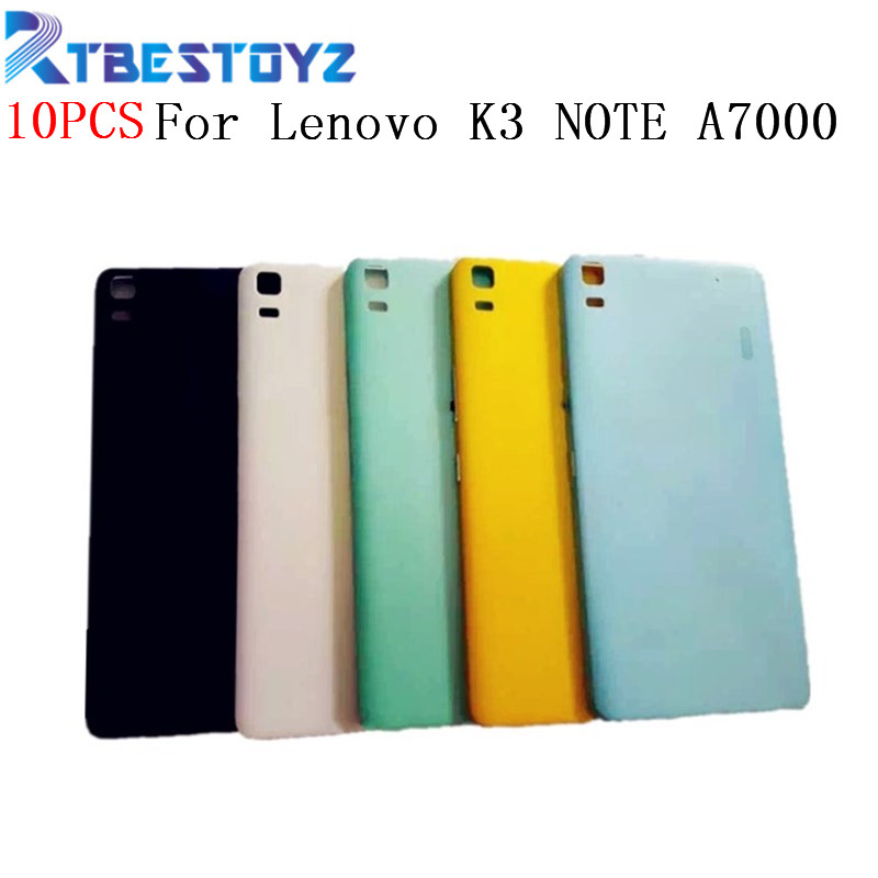 10PCS/Lot New <font><b>Battery</b></font> Door Back <font><b>Cover</b></font> Housing Case For <font><b>Lenovo</b></font> <font><b>K3</b></font> <font><b>NOTE</b></font> K50-T5 A7000 With Power Volume Buttons image