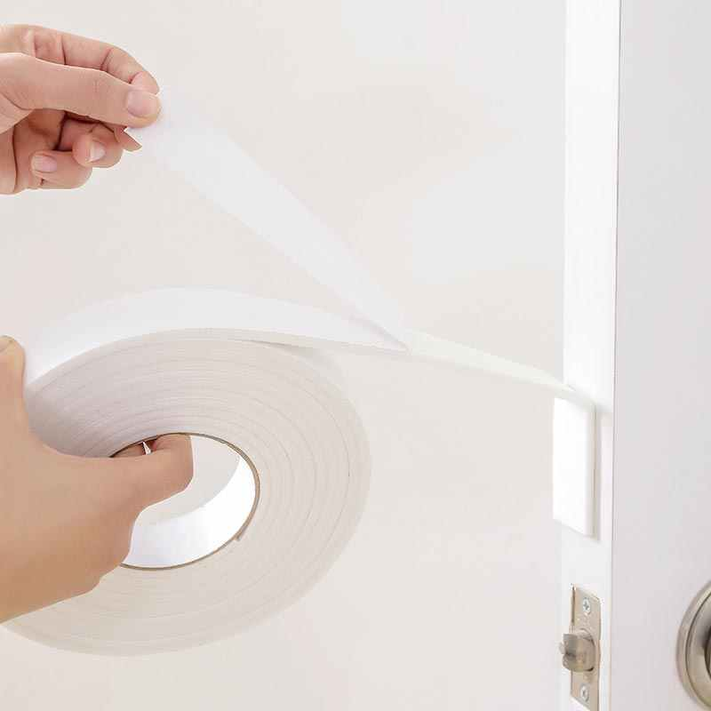 Soft 5M  Self-adhesive window sealing strip door and window   seal  tape  EVA soundproofing  Windproof  Foam  Window Accessorie