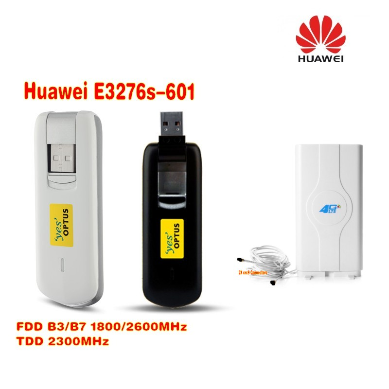 huawei E3276s-601 150mbps FDD TDD 4g wireless Lte modem plus 4g mimo 35dbi CRC9 antenna набор шьем кармашек веселая бабочка 3276