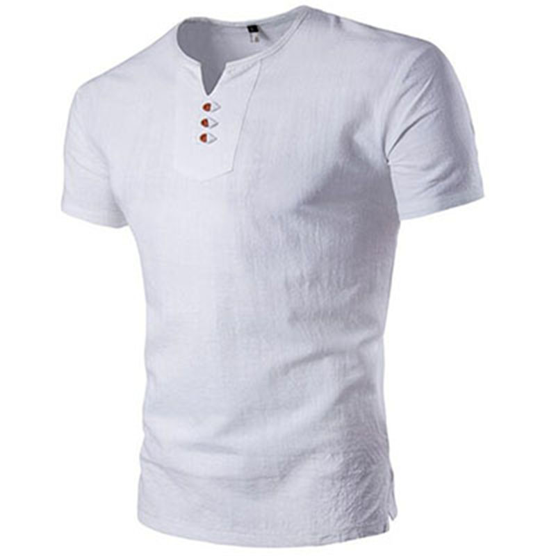 Mannen merk T shirt linnen stof zomer nieuwe fashion casual grote maat M XXXXXL Gratis Verzending-in T-shirts van Mannenkleding op AliExpress - 11.11_Dubbel 11Vrijgezellendag 1