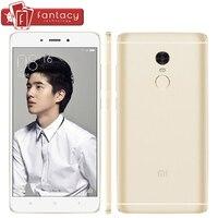 Original Xiaomi Redmi Note 4 Pro 3G RAM MTK Helio X20 Deca Core Fingerprient ID 13MP