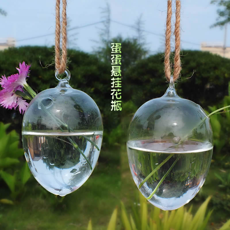 Free Shipping hanging glass balls bubble round pots flower vases terrarium candle holder for christmas wedding decorations 020