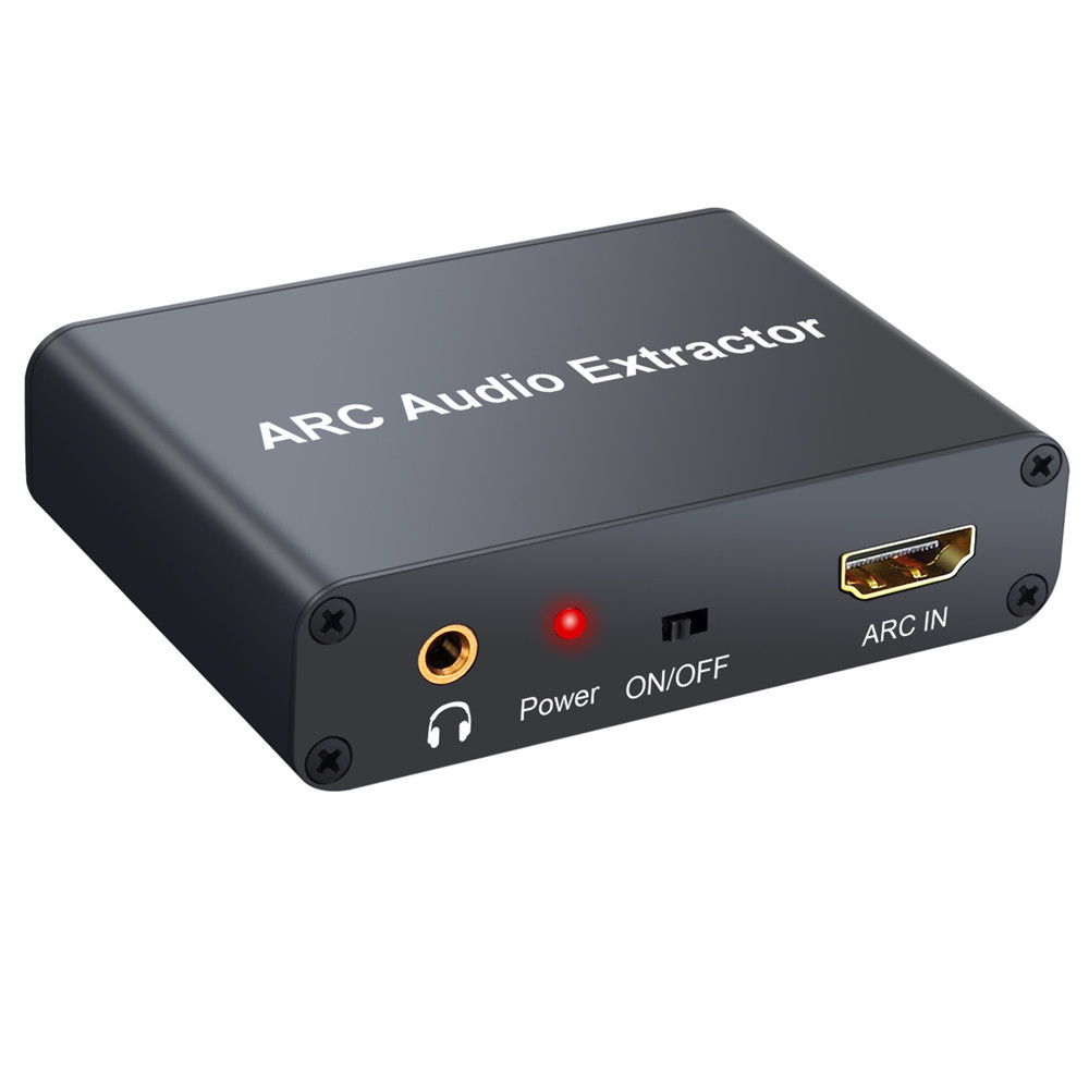 Hdmi Arc Us 27 63 192khz Hdmi Audio Arc Extractor Hdmi Arc To Toslink Coaxial L R Converter Audio Return Channel Adapter Spdif Analog For Tv In Hdmi