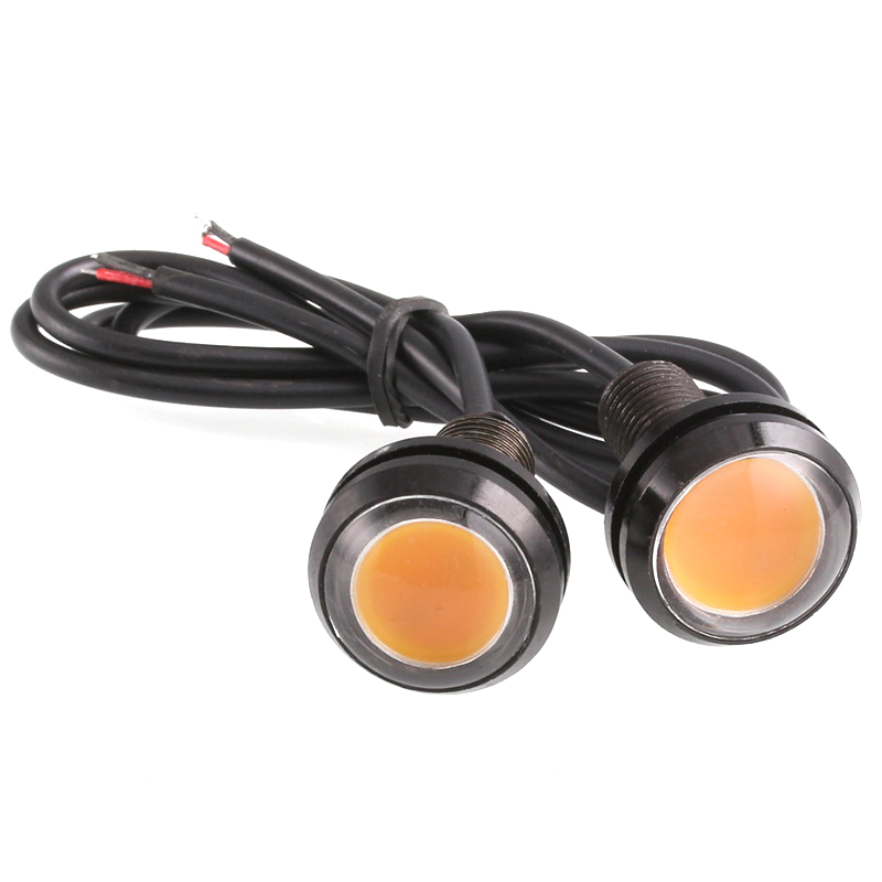 Accesorios de la motocicleta 2 unids Motocross luces Tipo Tornillo Hawkeye Luz D