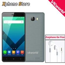 Оригинал vkworld t5 ram 2 ГБ rom 16 ГБ mtk6580 quad core android 5.1 3 Г WCDMA Смартфон 5.0 дюймов 1280×720 P Dual SIM GPS Мобильного Телефона
