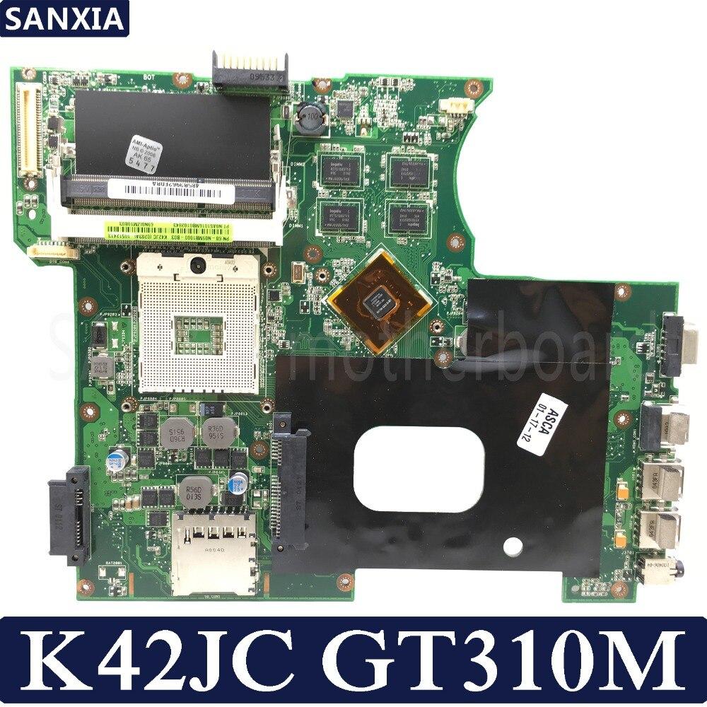 KEFU K42JC Laptop motherboard for ASUS K42JC K42J A42J K42J X42j A40J K42 Test original mainboard GT310MKEFU K42JC Laptop motherboard for ASUS K42JC K42J A42J K42J X42j A40J K42 Test original mainboard GT310M