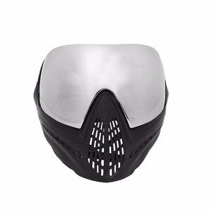 Image 2 - Fma Outdoor Airsoft Tactical Eyewear Ski Jacht Oorlog Spel Anti Fog Beschermende Goggle Volgelaatsmasker Met Reflecterende Lens FM 0024