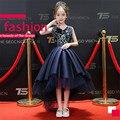 Платье-пачка с цветочным принтом для девочек  2018New