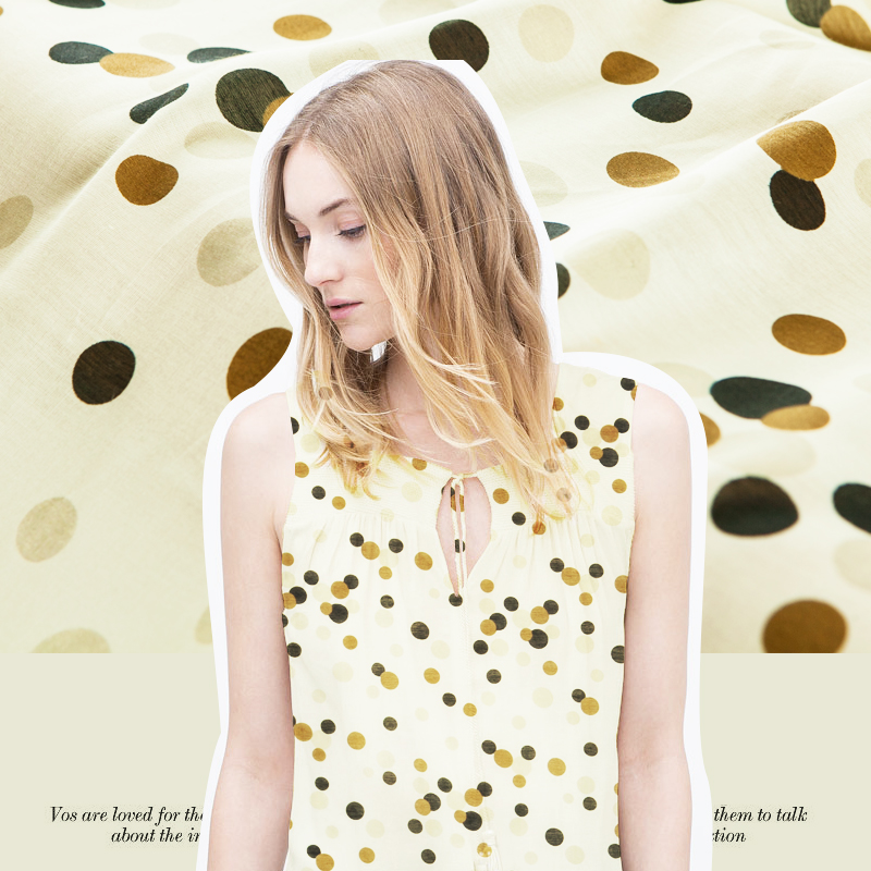 6cd53f0730cb4e Moda wiosna słodki dziewczęcy nieregularne kropki tkaniny jedwabne tkaniny  przez cienką skórę od summer odzież tkaniny.