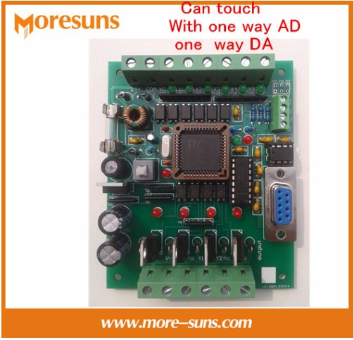 Fast Free Ship PLC industrial control board 51 MCU control board transistor output FX1N FX2N 10MR AD DA PLC Board plc industrial control board fx1n 2n 25mr download monitoring text touch screen power off to maintain fx1n 25mr fx2n 25mr