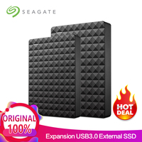 Seagate Expansion USB 3.0 HDD 2.5 500GB 1TB 2TB 4TB Portable External Hard Drive Disk for Desktop Laptop