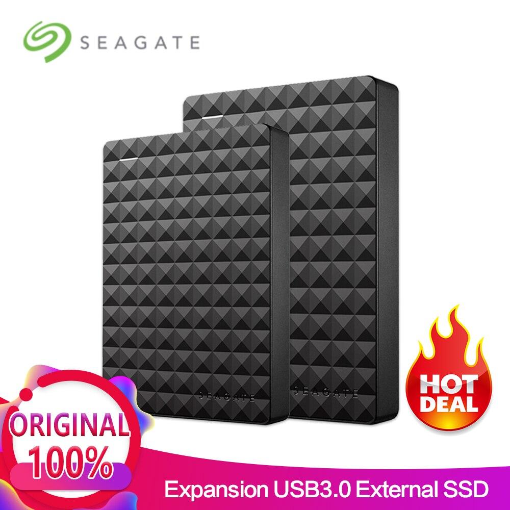 Seagate расширения USB 3,0 HDD 2,5 500 ГБ 1 ТБ 2 ТБ 4 ТБ Портативный внешний жесткий диск для рабочего ноутбука