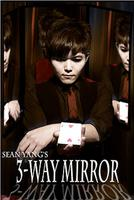 3 Way Mirror By Sean Yang Practicing Mirror for Card Magic Gimmick Illusions Tricks Accessories Stage Professional Magician Toys
