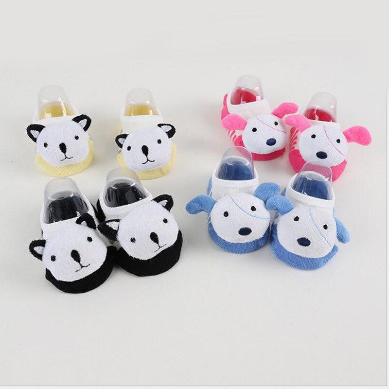 Angemessen 2017 Marke Baumwolle Baby Socken Katze/hund Design Cartoon Tier 3d Design Kinder Socken Mädchen/jungen Geschenk Magie MöChten Sie Einheimische Chinesische Produkte Kaufen? Babykleidung Mädchen