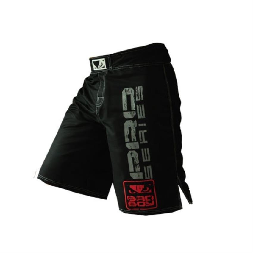 SUOTF MMA LUCHA CONTRA rojo y negro deportes transpirable Tiger Muay Thai Gloria boxeo ropa muay thai pantalones de boxeo