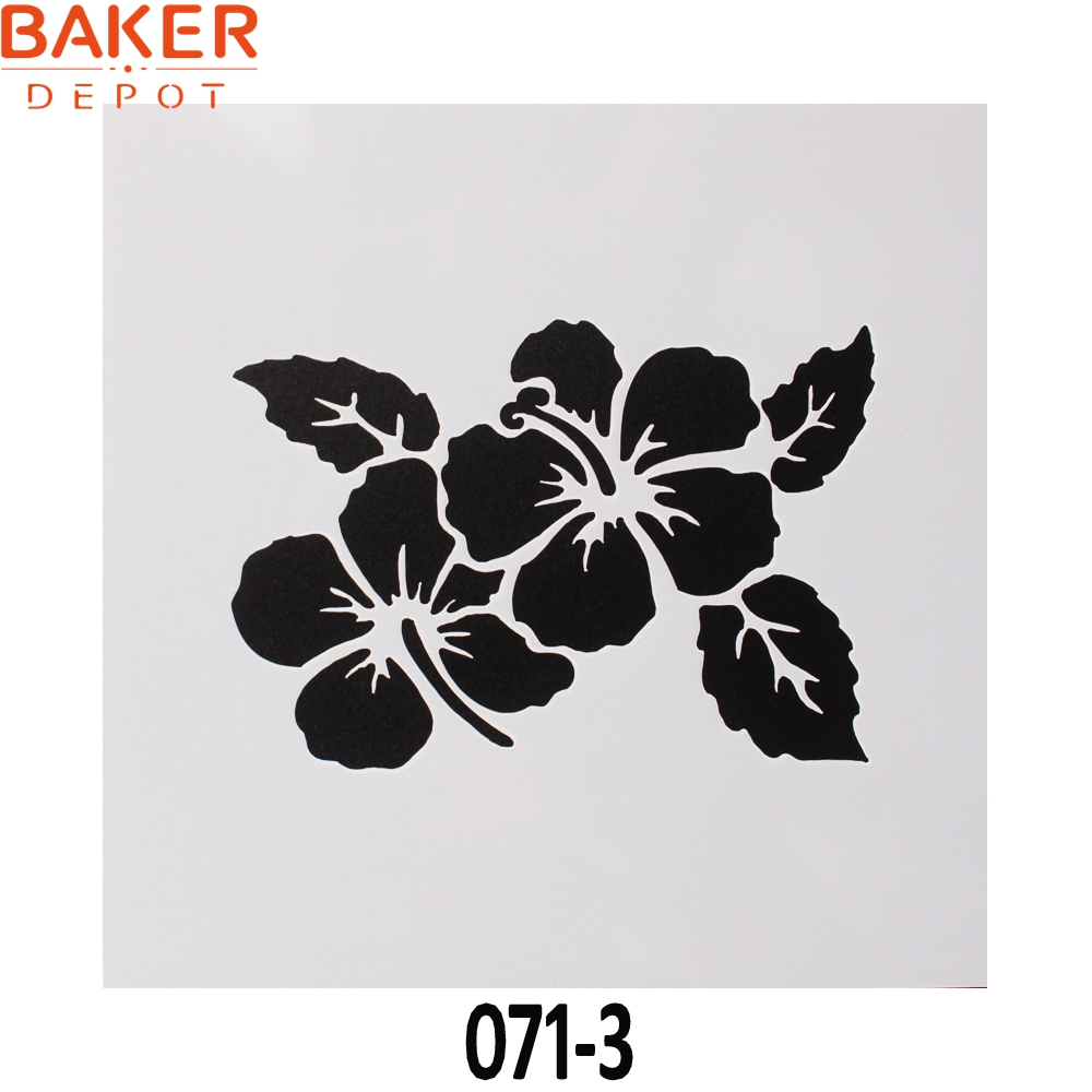 Aliexpress buy baker depot children creative graphic love and aliexpress buy baker depot children creative graphic love and flowers drawing stencil diy paint mold cake decorating tool 1313cm set of 4 from izmirmasajfo
