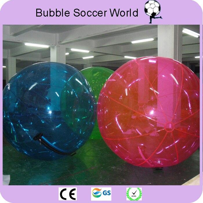 Darmowa wysyłka najwyższej jakości 2 m wody spaceru piłkę Giant kula wodna Zorb piłka balon nadmuchiwane wody Zorb piłka do gry do tańca w Piłki do zabawy od Zabawki i hobby na  Grupa 2