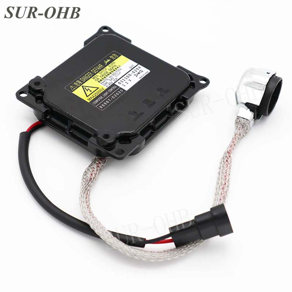 hight resolution of replacement denso ddlt003 kdlt003 85967 52020 85967 51050 d4sd4r hid xenon headlight ballast for