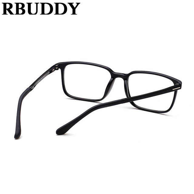 e30cd84d26 RBUDDY Fashion Black Glasses Frame Women Men Square light Optical  transparent Clear Glasses Spectacles Eyeglass Nerd
