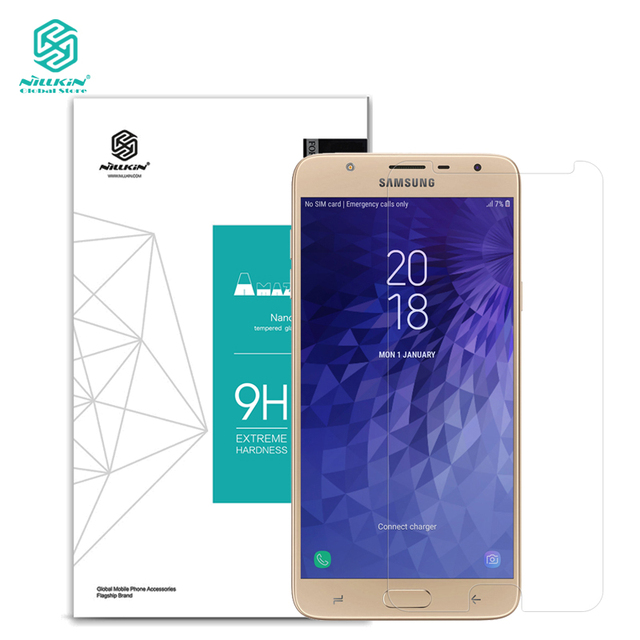 Nillkin 0 3mm explosion proof screen protector for Samsung Galaxy J7 Duo  tempered glass film for Samsung Galaxy J7 Duo-in Phone Screen Protectors  from