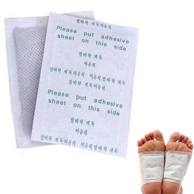 Detox Foot Pads Patches com adesivo, Limpar e energizar seu corpo