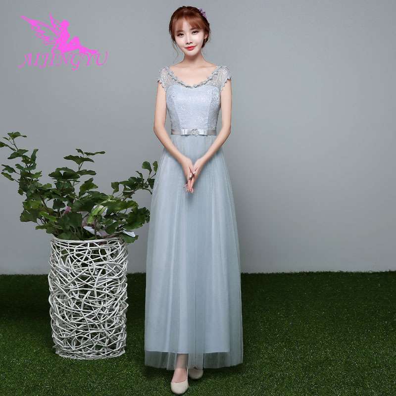 AIJINGYU 2018 girl sexy wedding guest party prom   dress     bridesmaid     dresses   BN322