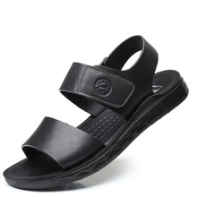 2019 New Summer Leather Men Sandals Luxury Brand High Quality Genuine Fashion DA0221