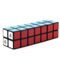 WitEden Unequal 2x2x7 Camouflage Magic Cube Professional Speed Puzzle 227 Cube Educational Toys for Children cubo magico