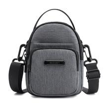 2019 Waterproof Mini Men Bag New Oxford Messenger Crossbody Bags for Male Casual Mini Shoulder Bag High Quality Travel hand bag недорого