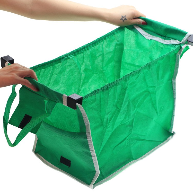 New-Grab-Bag-2-Piece-Reusable-Ecofriendly-Shopping-Bag-Large-capacity-Foldable-cart-square-pocket-Reusable(3)