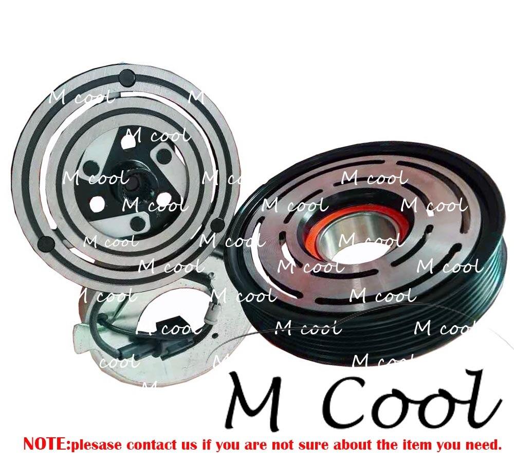 Dks17d Auto Ac Compressor For Nissan Almera Tino V10 Air Conditioner 926009f500 926009m500 926009f501 926009f510 926009f511 Auto Replacement Parts