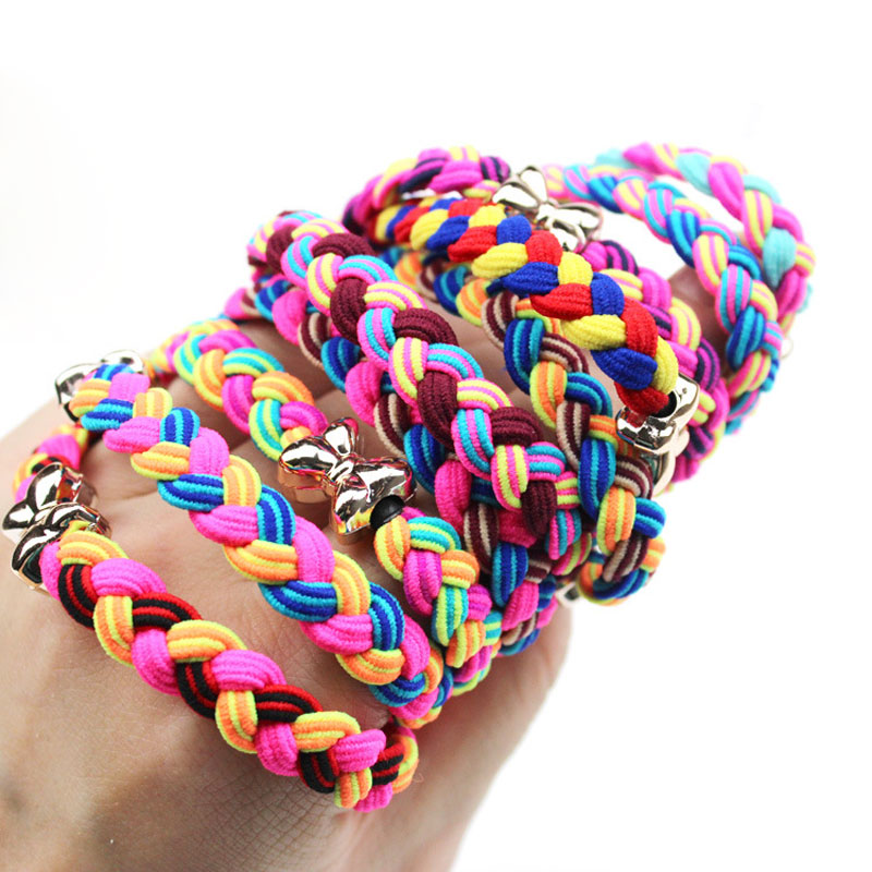 5pcs Hair Rope Gum For Hair Accessories Rubber Elastic Hair Bands For Women Scrunchy Girls Springs Hair Ornaments Ties Headwear m mism 2pcs new rhinestone bead hair elastic band hair accessories rubber tie gum ponytail holder scrunchy for women girls