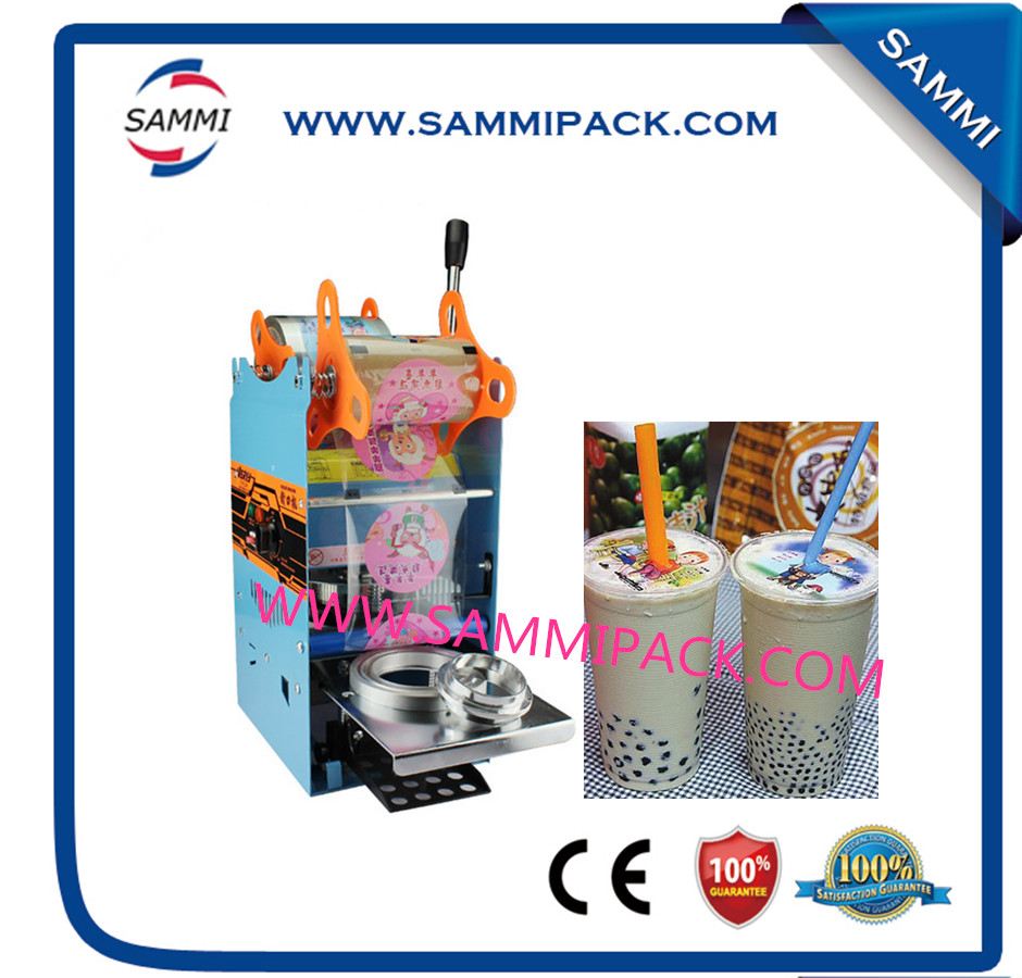 WY-802D Manual plastic cup sealing machine for milk tea, juiceWY-802D Manual plastic cup sealing machine for milk tea, juice