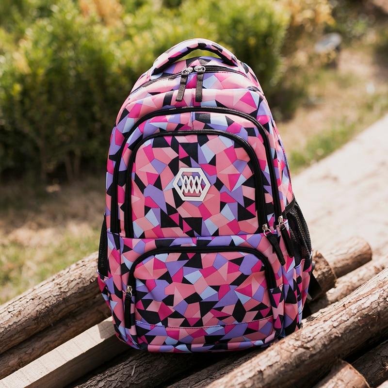 18,5 дюймов молнии большой Ёмкость рюкзак школьные сумки для девочки дорожная сумка рюкзак для Для женщин Backapcks падение сумка-шоппер подарок