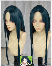 FREE SHIPPING ! ! ! MAGI Hakuei Ren Fashion Long Dark Blue Cosplay Party Wig Harajuku Hair Wigs