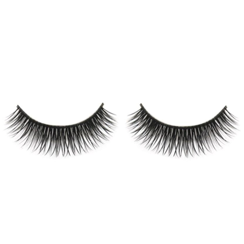 Beauty & Health Kanbuder False Eyelashe 1 Pair Heart-shaped Natural Long Thick False Eyelashes Charming Eyelashes Makeup Black Dropship Ap9