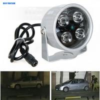 DIYSECUR 4LED Infrared Night vision IR Light illuminator lamp 50M for IP CCTV CCD Camera